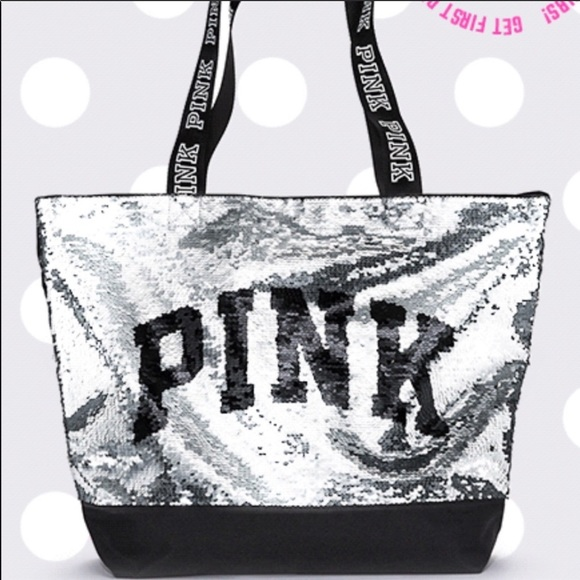 PINK Victoria's Secret Handbags - 🆕 Victoria Secret Pink sequin tote